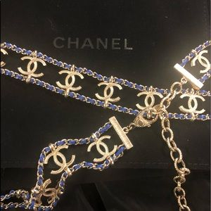 New with tags. Chanel chain belt